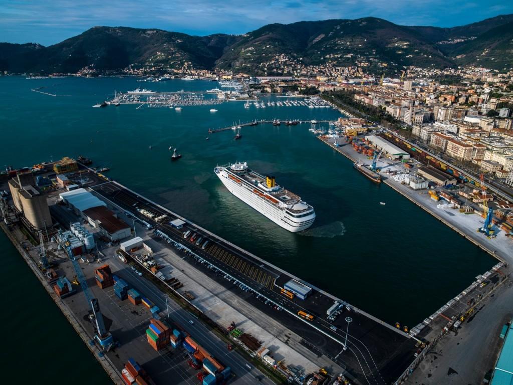 Ampliamento Molo Garibaldi - La Spezia
