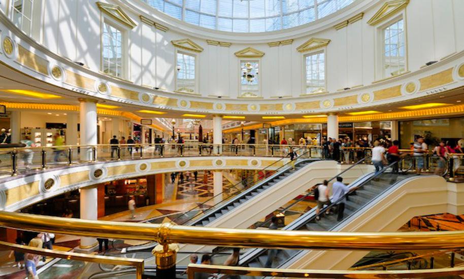 Galleria del Centro Commerciale Euroma 2 a Roma