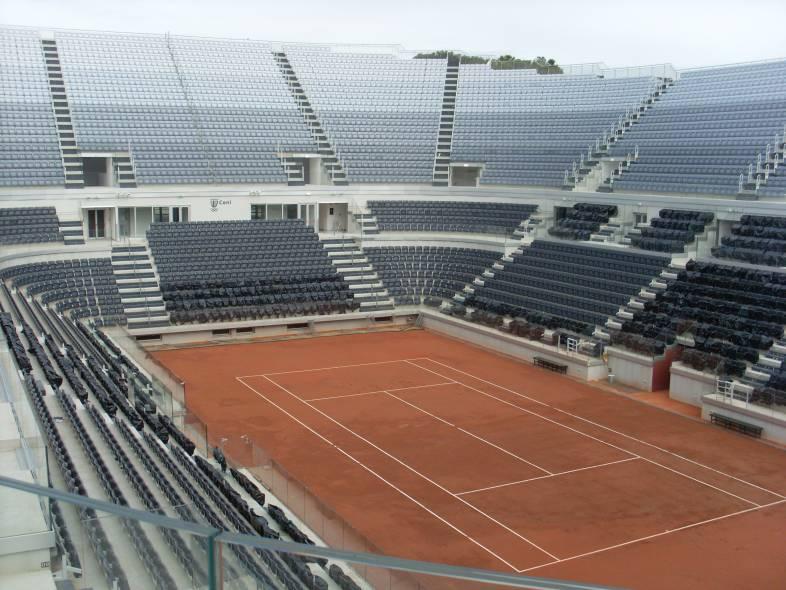 Ristrutturazione Dello Stadio Centrale Del Tennis